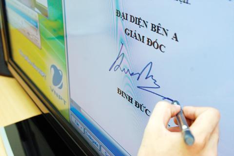Hướng dẫn mới về chữ ký điện tử có hiệu lực từ 12/9/2017