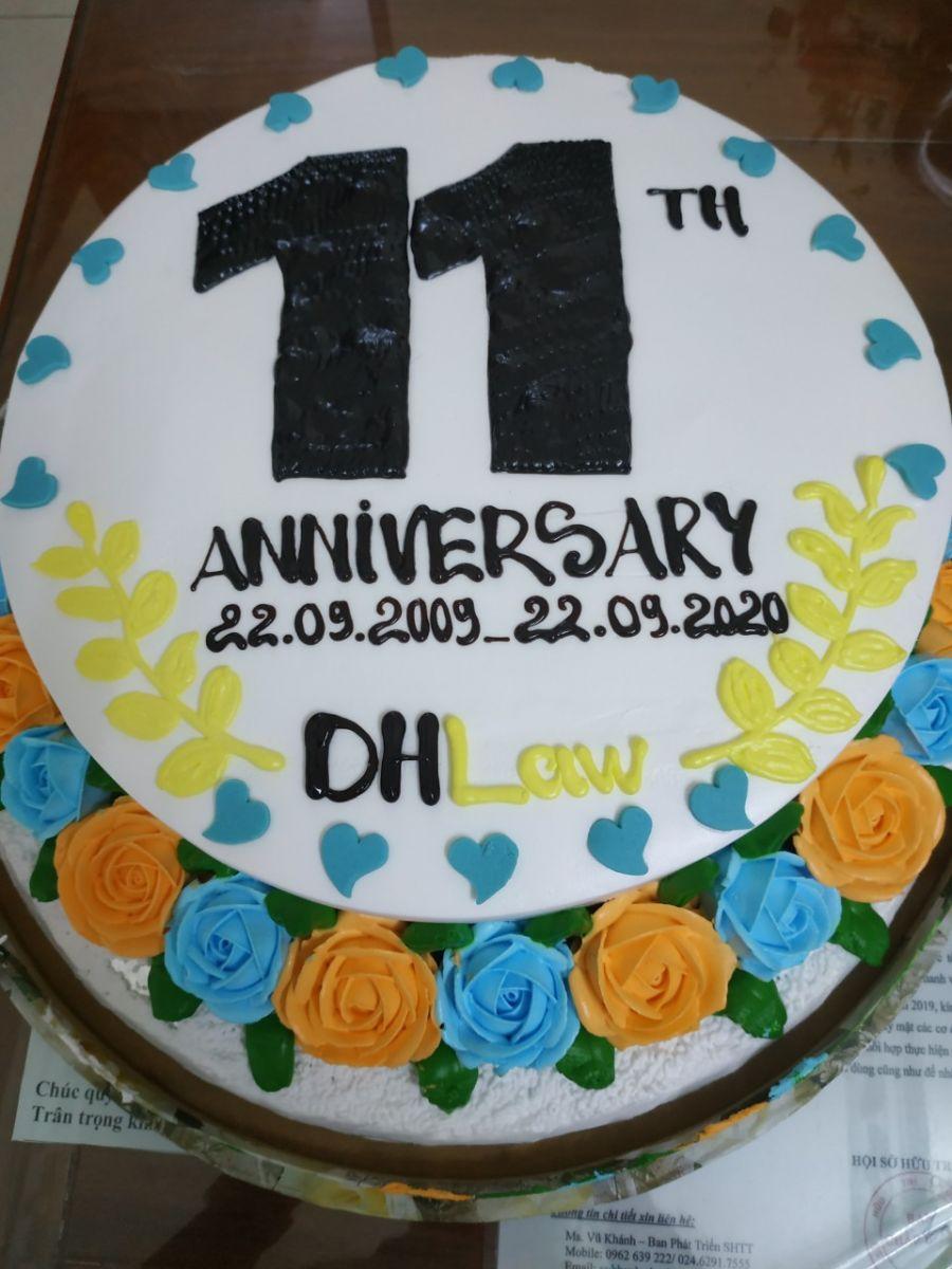 Lễ kỉ niệm 11 năm thành lập công ty