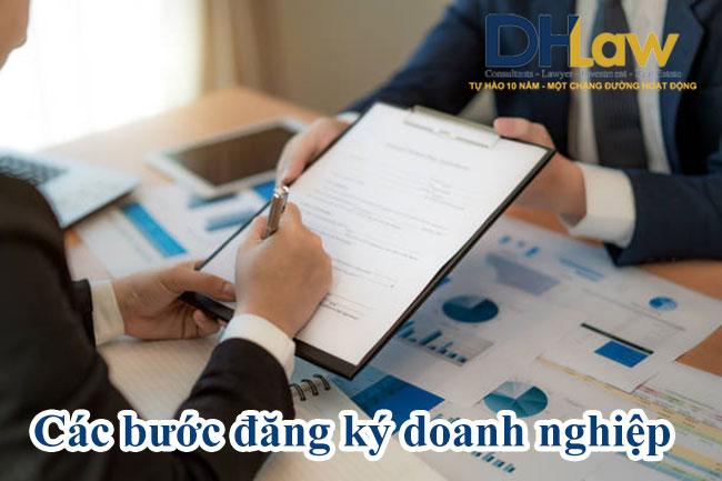 Các bước đăng ký doanh nghiệp