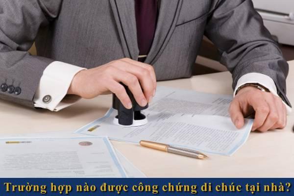 truong hop nao duoc lap, cong chung di chuc tai nha