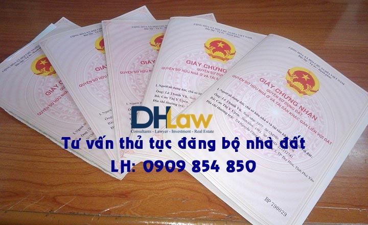 dịch vụ đăng bộ sang tên nhà đất