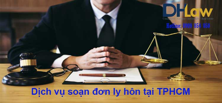 Dịch vụ soạn đơn ly hôn tại TPHCM