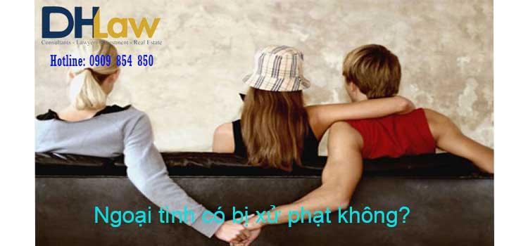 Ngoại tình có bị xử phạt không?