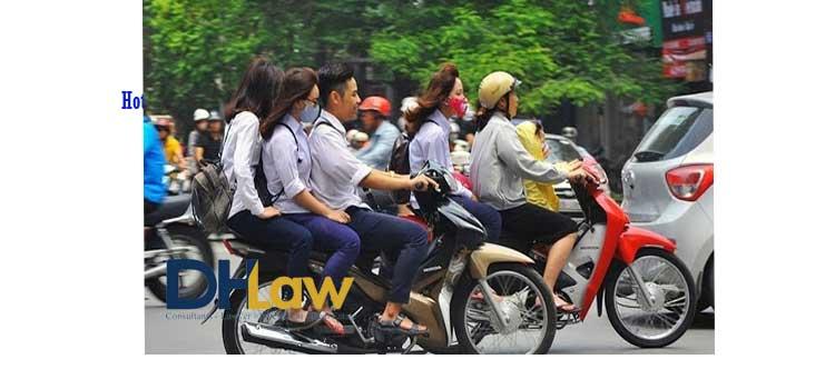 Những lỗi vi phạm sẽ bị tạm giữ xe máy khi tham gia giao thông