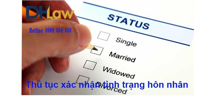 Thủ tục xin xác nhận tình trạng hôn nhân