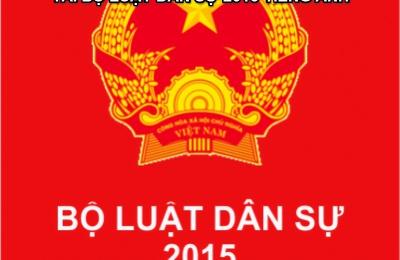 Tải Bộ luật dân sự 2015 pdf, doc bản Tiếng Việt - Tiếng Anh