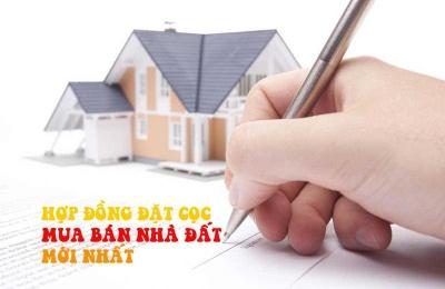 Hợp đồng đặt cọc mua bán nhà đất