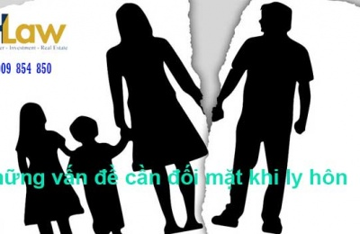 Những vấn đề cần đối mặt khi ly hôn