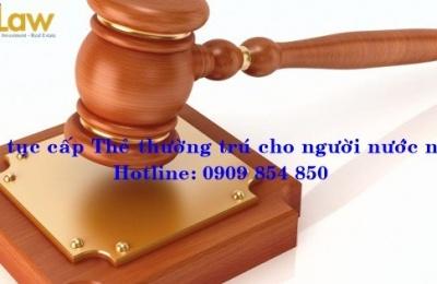 Mẫu đơn đăng ký thường trú nhân cho người Việt Kiều