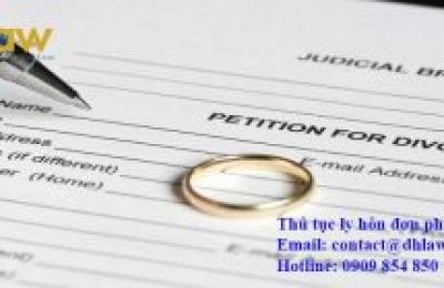 Đơn phương ly hôn giấy tờ có cần công chứng không?