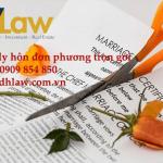 Dịch vụ ly hôn đơn phương trọn gói tại TP.HCM