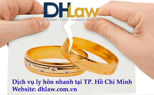 dịch vụ ly hôn nhanh tại TP. Hồ Chí Minh