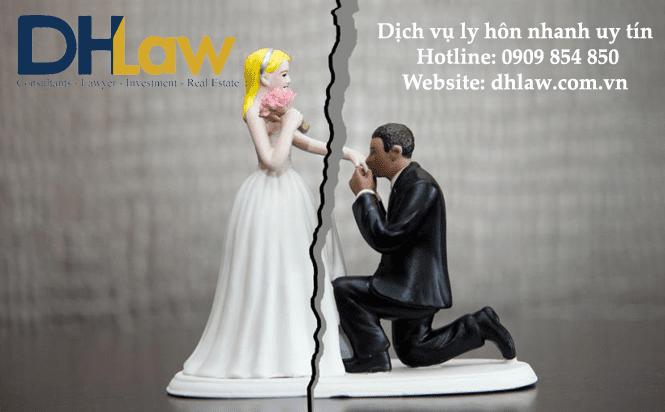 dịch vụ ly hôn nhanh uy tín