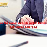 Hướng dẫn thủ tục bổ sung ngành nghề kinh doanh