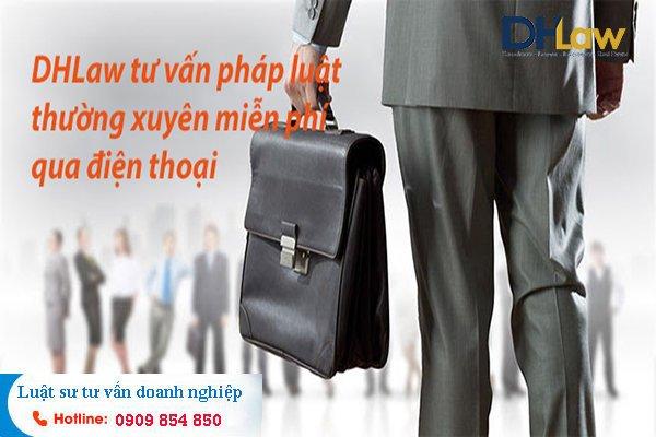 DHLaw tư vấn pháp luật thường xuyên miễn phí tại TPHCM