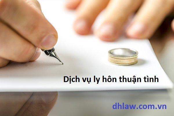 dịch vụ ly hôn thuận tình