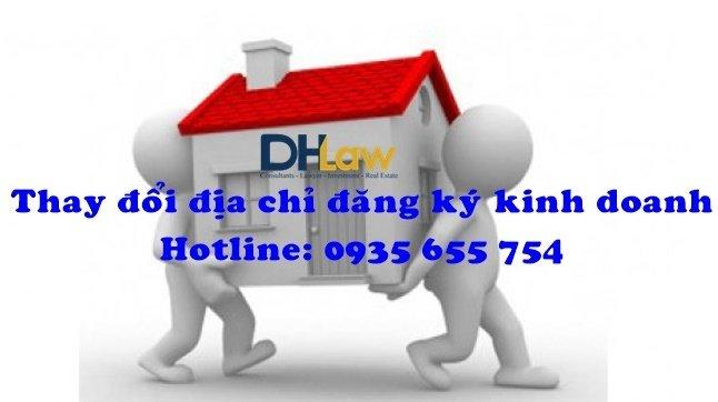 Thủ tục thay đổi địa chỉ đăng ký kinh doanh cùng quận/huyện
