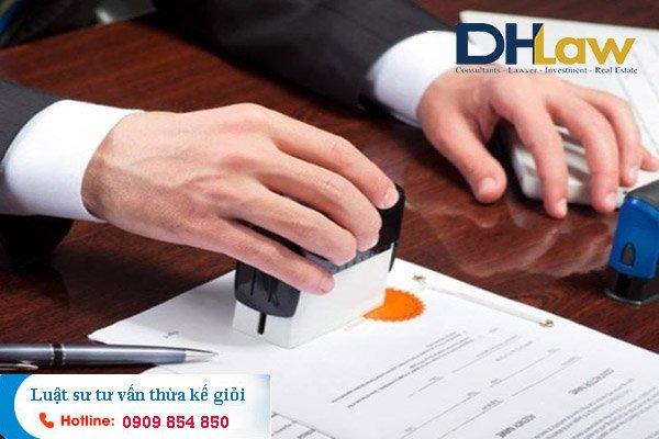 DHLaw tư vấn tính hiệu lực của di chúc