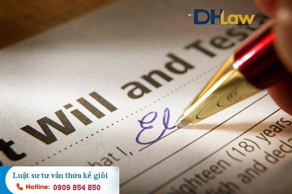 DHLaw tư vấn thủ tục từ  chối nhận di sản thừa kế