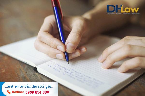 DHLaw tư vấn các loại di chúc theo quy định mới