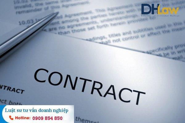 DHLaw nhận soạn thảo hợp đồng dịch vụ tại Bình Thạnh