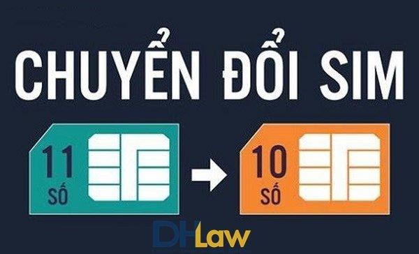 Quy trình chuyển đổi thuê bao di động 11 số sang 10 số
