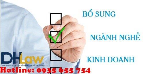 Dịch vụ Bổ sung ngành nghề kinh doanh chuyên nghiệp