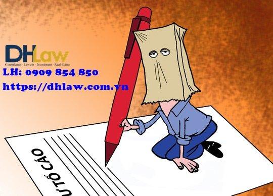 Quy định rõ việc không xem xét đơn tố cáo nặc danh