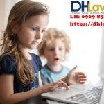Trẻ em được bảo vệ trên không gian mạng