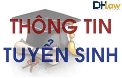 Thông tin tuyển sinh đại học được đăng tải công khai