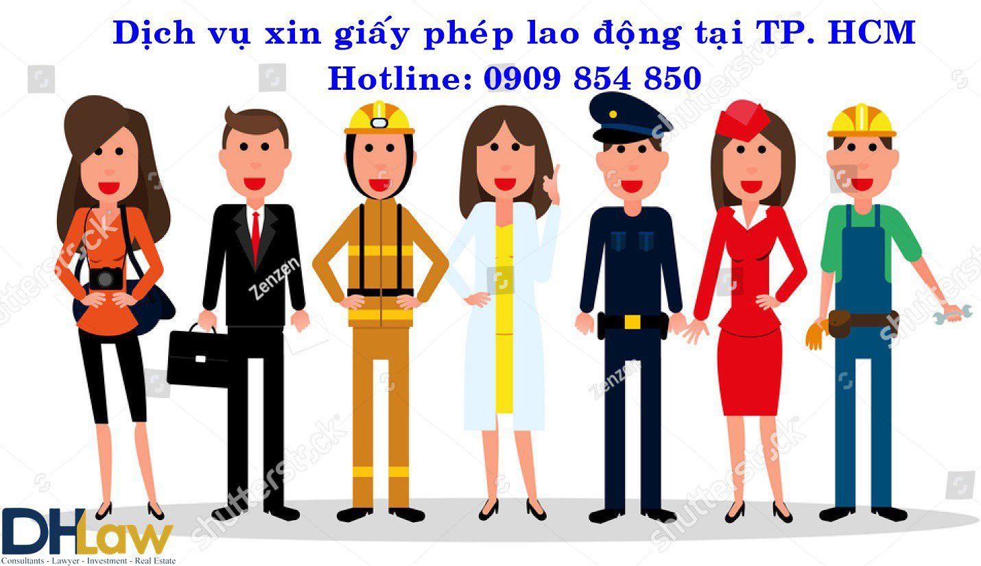 Dịch vụ xin giấy phép lao động tại TP. HCM