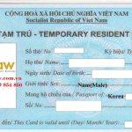 Thẻ tạm trú cho người nước ngoài tại TP. HCM