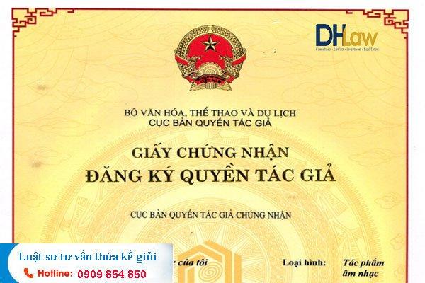 DHLaw tư vấn thừa kế quyền tác giả uy tín TPHCM