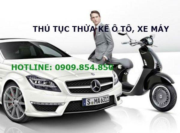 DHLaw tư vấn thủ tục thừa kế ô tô, xe máy