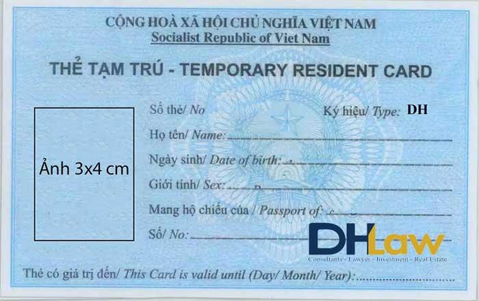 Dịch vụ Tư vấn làm thẻ tạm trú cho người nước ngoài