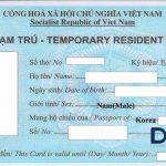 # Lệ phí cấp Thẻ Tạm Trú cho người nước ngoài ?