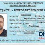 Thẻ tạm trú Tiếng Anh là gì? có phải Temporary residence card không?