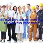 Thu BHXH bắt buộc đối với Người lao động là công dân nước ngoài