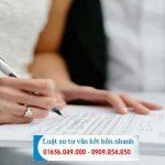 Tư vấn thủ tục đăng ký kết hôn lần 2 mới nhất