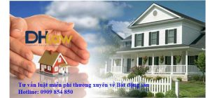 Tư vấn luật thường xuyên cho công ty bất động sản