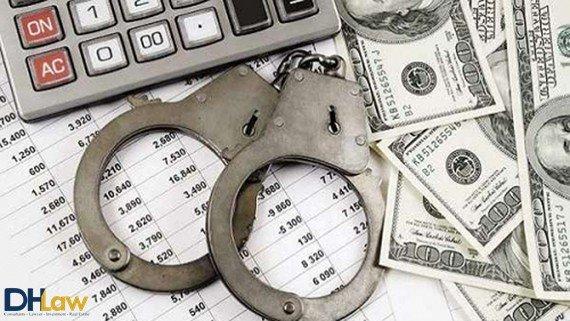 Định tội đối với tội rửa tiền