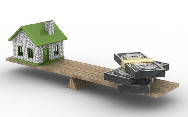 Thuế, Lệ phí, Cách tính giá tiền hoàn công nhà