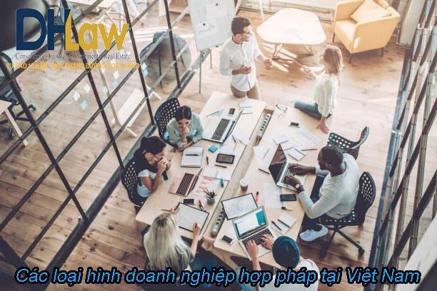 Các loại hình doanh nghiệp hợp pháp tại Việt Nam