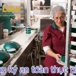 Cấp giấy chứng nhận đủ điều kiện an toàn thực phẩm