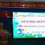 """DHLaw cùng tổ chức """"Đêm Hội Trăng Rằm"""" tại Phường 25 Quận Bình Thạnh"""