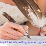 Dịch vụ đăng ký kết hôn với người nước ngoài trọn gói tại TPHCM