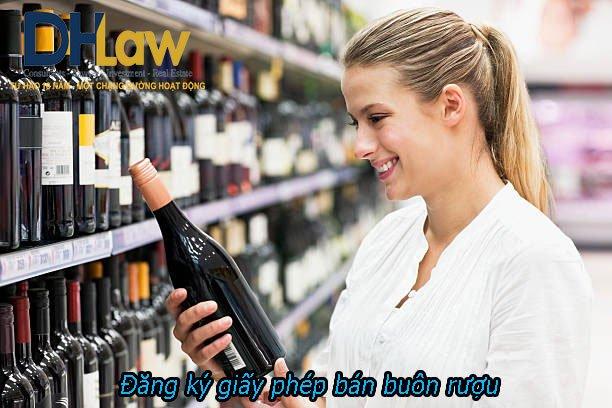 Dịch vụ xin Giấy phép bán buôn rượu