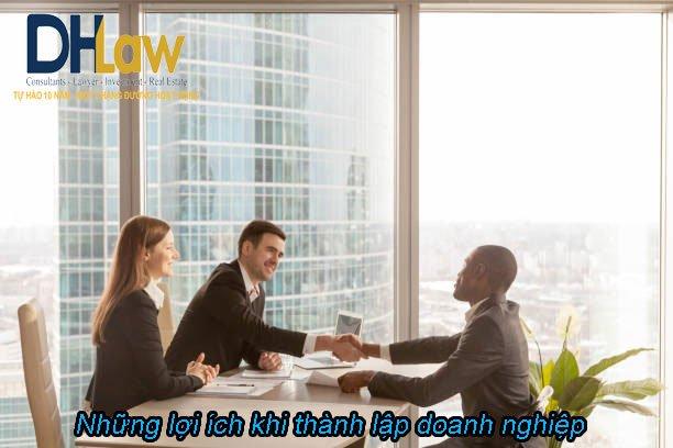 Những lợi ích khi thành lập doanh nghiệp