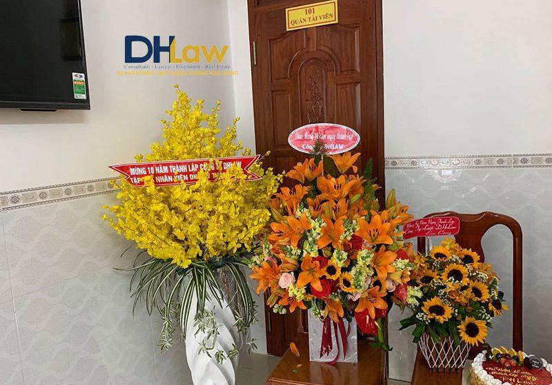 Sự kiện Kỷ niệm 10 năm Thành Lập Công Ty DHLaw 23-09-2019