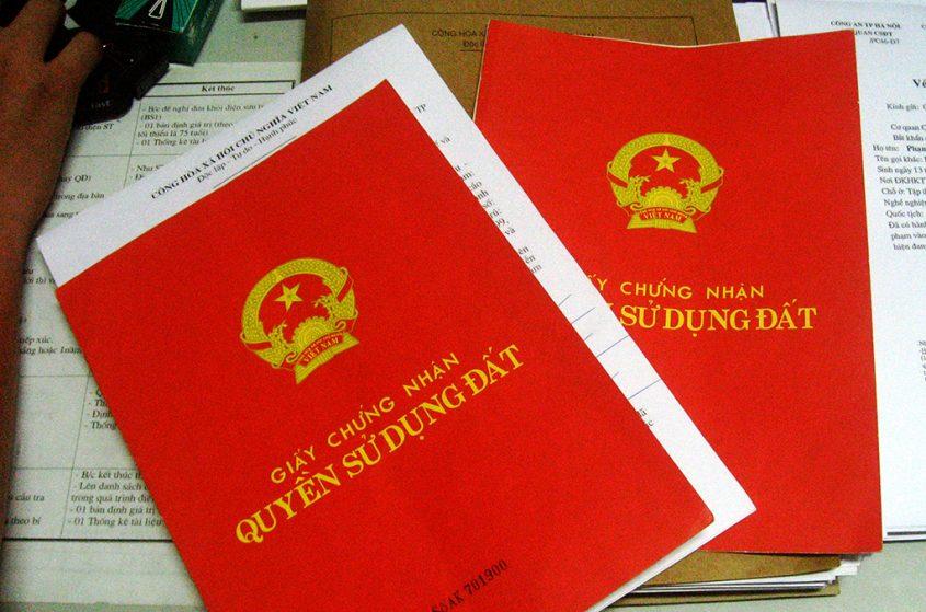 Thủ tục làm sổ đỏ từ giấy tờ viết tay